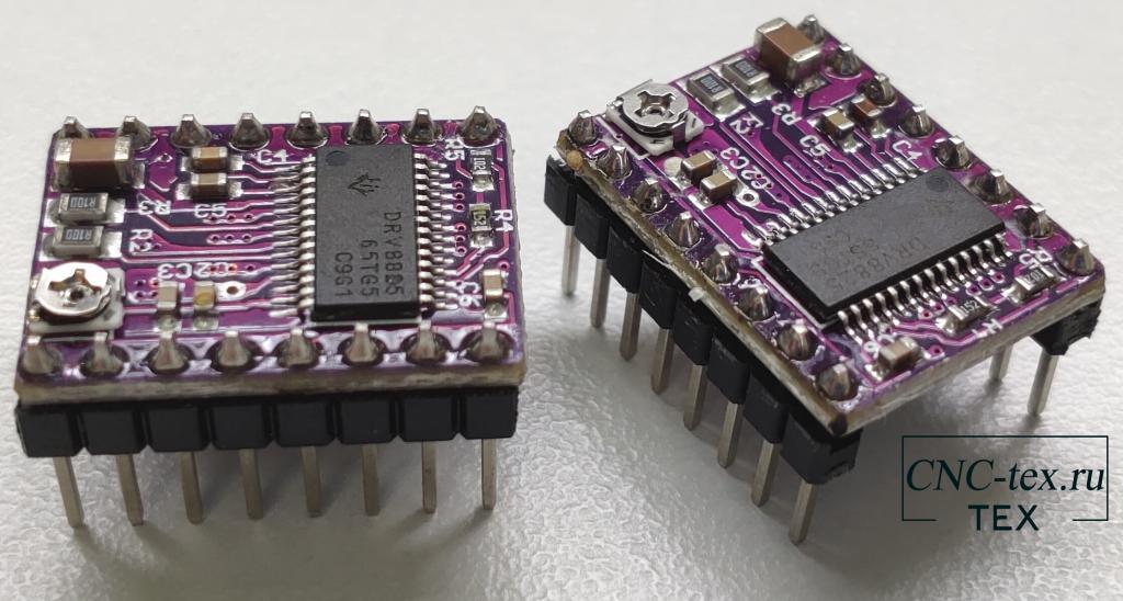 Технические характеристики драйвер DRV8825.